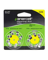 Enercell® Size-10/230 Zinc-Air Hearing Aid Batteries 16-Pk 23-1167 - RadioShack