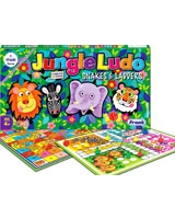 Jungle Ludo And Snakes & Leadders Cards - Frank