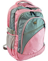 "Small Laptop Backpack 15.6"" 24115B Pink - HQ"