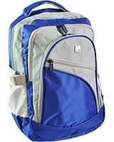 """Small Laptop Backpack 15.6"""" 24115B Blue - HQ"""