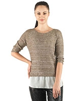 Knitted Pullover 24357 - Ravin