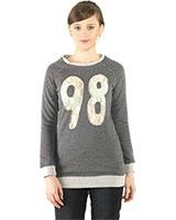 Round Neck Sweatshirt 24392 - Ravin