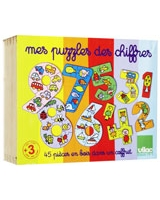 Case of Number Puzzles - Vilac