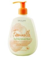 Feminelle Soothing Wash Peony - Oriflame