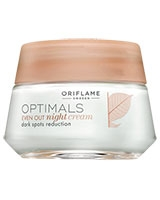 Optimals Even Out Night Cream - Oriflame