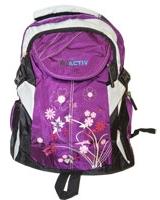 Back Bag Purple x Black AC-26 - Jel Activ