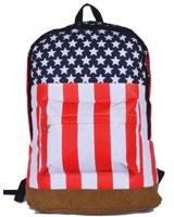 Back Bag Blue x Red x White AC-2609 - Jel Activ