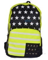 Back Bag Black x Green AC-2612 - Jel Activ