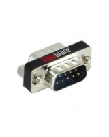 Gigaware® DB9 Male to DB9 Male Serial Coupler 26-1410 - RadioShack
