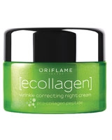 Ecollagen Wrinkle Correcting Night Cream - Oriflame