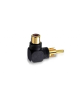 Right-Angle RCA Phono Plug to RCA Phono Jack - RadioShack