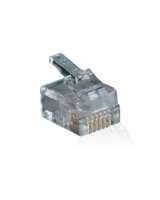 6-Pin RJ25 Quick Connect Plug - 10 Pack - RadioShack