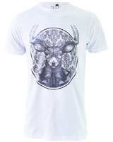 Gentle Gazelle graphic T-Shirt White - Ultimate