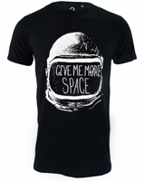 Give Me More Space T-Shirt Black - Ultimate
