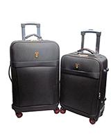Long xing Travel Set Bag 2 Pieces Black