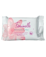 Feminelle Refreshing Intimate Wipes 20 Pieces - Oriflame