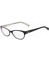 Ladies' Optical Glasses 3008 Black/White Variegated 5051 - Emporio Armani
