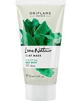 Love Nature Clay Mask Tea Tree - Oriflame
