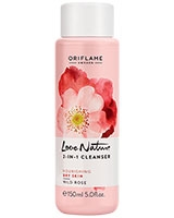 Love Nature 2-in-1 Cleanser Wild Rose - Oriflame