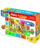 Baby Gnius Activity Puzzle Wood - Lisciani Goichi