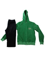 Pyjama Velvet 3050 Green - PJS