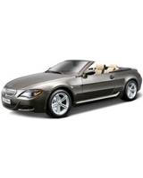 Bmw M6 Cabriolet Dull Grey - Maisto Die-Cast
