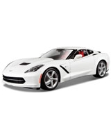 2014 Corvette Stingray White - Maisto Die-Cast