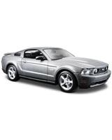 Ford Mustang Gt 2011 Metallic Sliver - Maisto Die-Cast