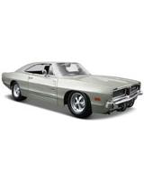 1969 Dodge Charger R/T Metallic Sliver - Maisto Die-Cast