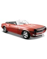 1968 Chevrolet Camaro SS 396 Convertible Metallic Red - Maisto Die-Cast