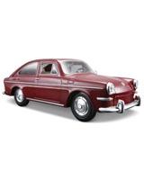 1:24 SP 1967 Volkswagen 1600 Fastback Metallic Dark Red - Maisto Die-Cast