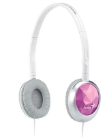 Stylish headphones for music GHP-400S Red - Genius