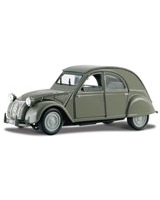 1952 Citroen 2CV Metallic Grey - Maisto Die-Cast
