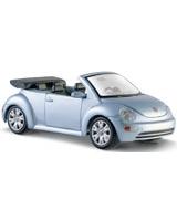 Volkswagen New Beetle Cabriolet Metallic Light Blue - Maisto Die-Cast