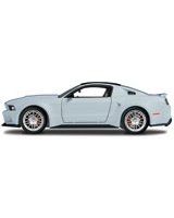 1:24 Need For Speed 2014 Ford Mustang Sliver - Maisto Die-Cast