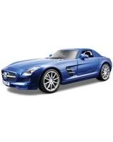 Mercedes-Benz Sls AMG Metallic Blue - Maisto Die-Cast