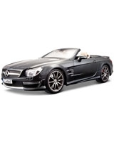 2012 Mercedes Benz Sl AMG 65 Metallic Black - Maisto Die-Cast