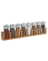 Set of 8 Bottle spice Carousel 3 In 1 0063562575898 - Trudeau