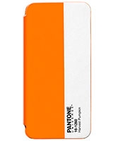 Pantone iPhone5 / 5S Bookcase Orange - Case Scenario