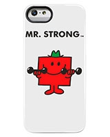 Mr Men And Little Miss Iphone 5 Case Mr Strong - Case Scenario
