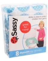 Disposable Potty Seat Covers 40004 - Sassy