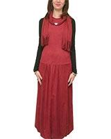 Dress 401 Dark Red - M.Sou