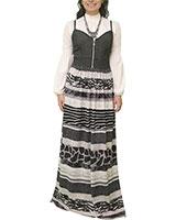 Dress 412 Grey/Black - M.Sou