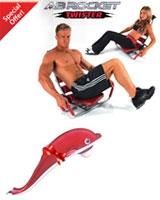 Ab Rocket AB Rocket Twister + Free Dolphin Massager
