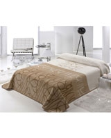 Magical color 439 blanket size 220x240 Beige - Mora
