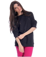 Sweet Shirt Black - Guzel
