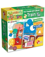 Carotina Shaps And Colors Train - Lisciani Goichi