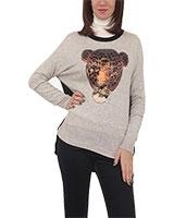 Pullover 4533 Black/Grey One Size - M.Sou