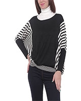 Pullover 4543 White/Black One Size - M.Sou