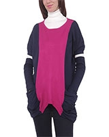 Pullover 4545 Navy/Fuchsia One Size - M.Sou